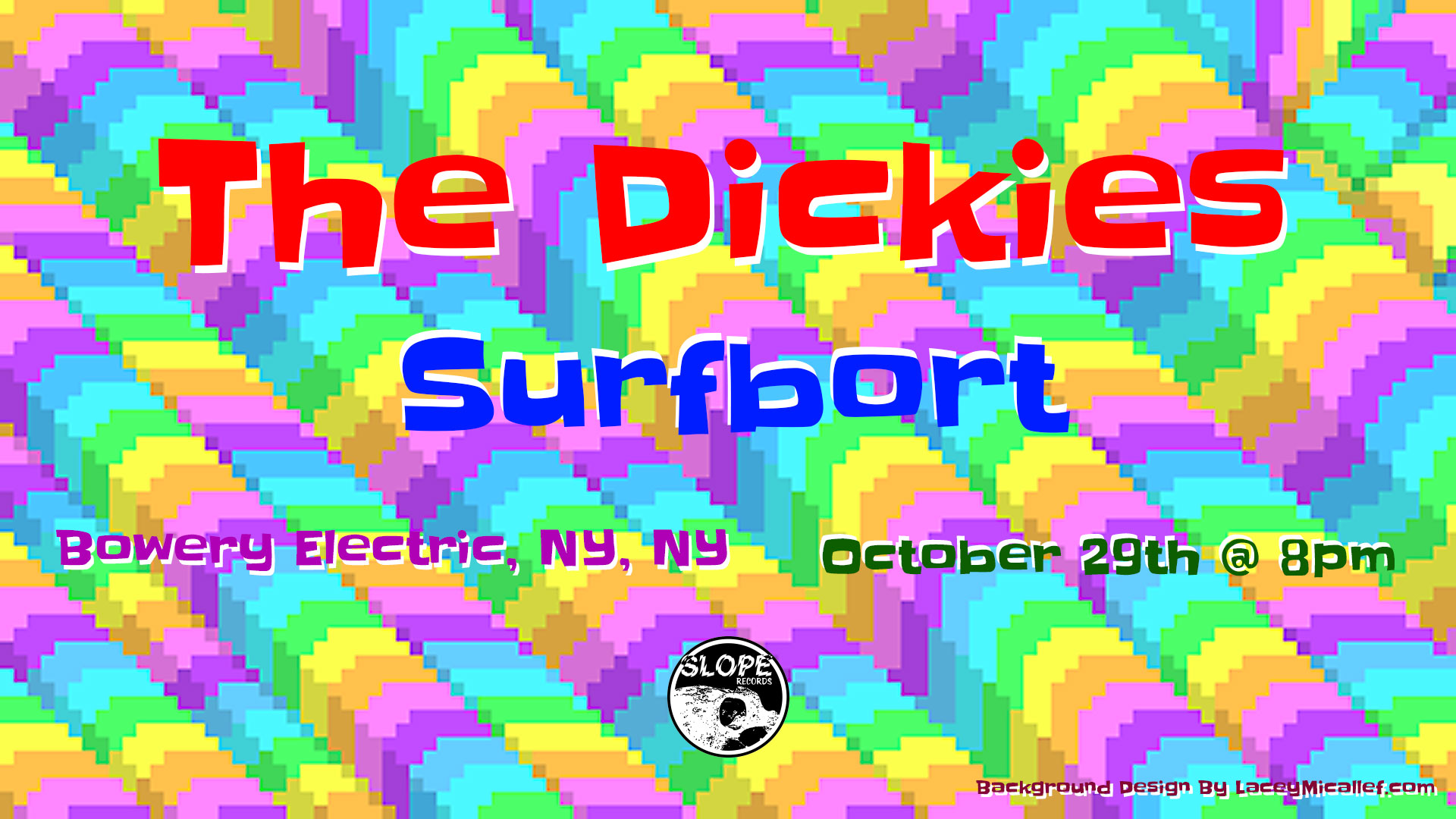 The Dickies and Surfbort @ The Bowery Electric, NY, NY 10/29