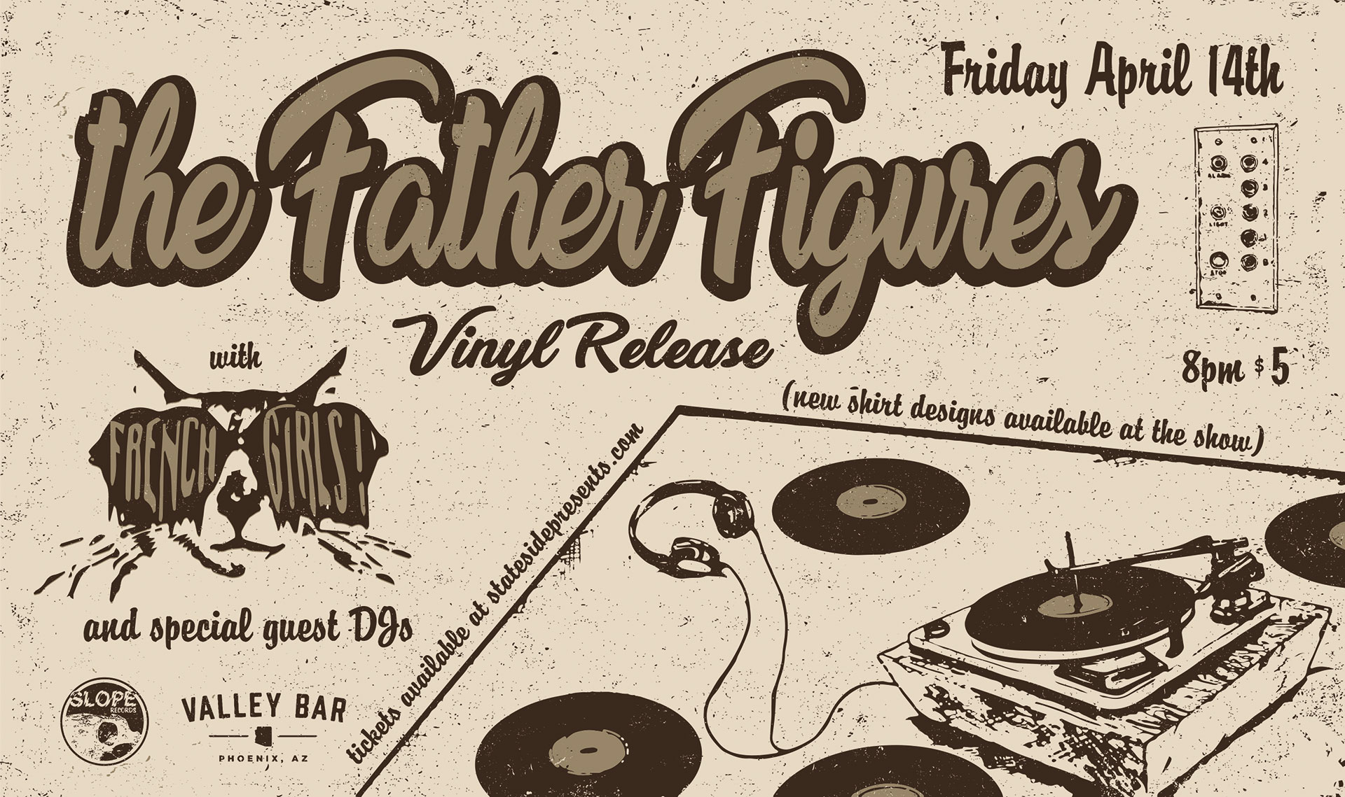 The Father Figures - Heavy Lifting Vinyl Release - Slope Records
