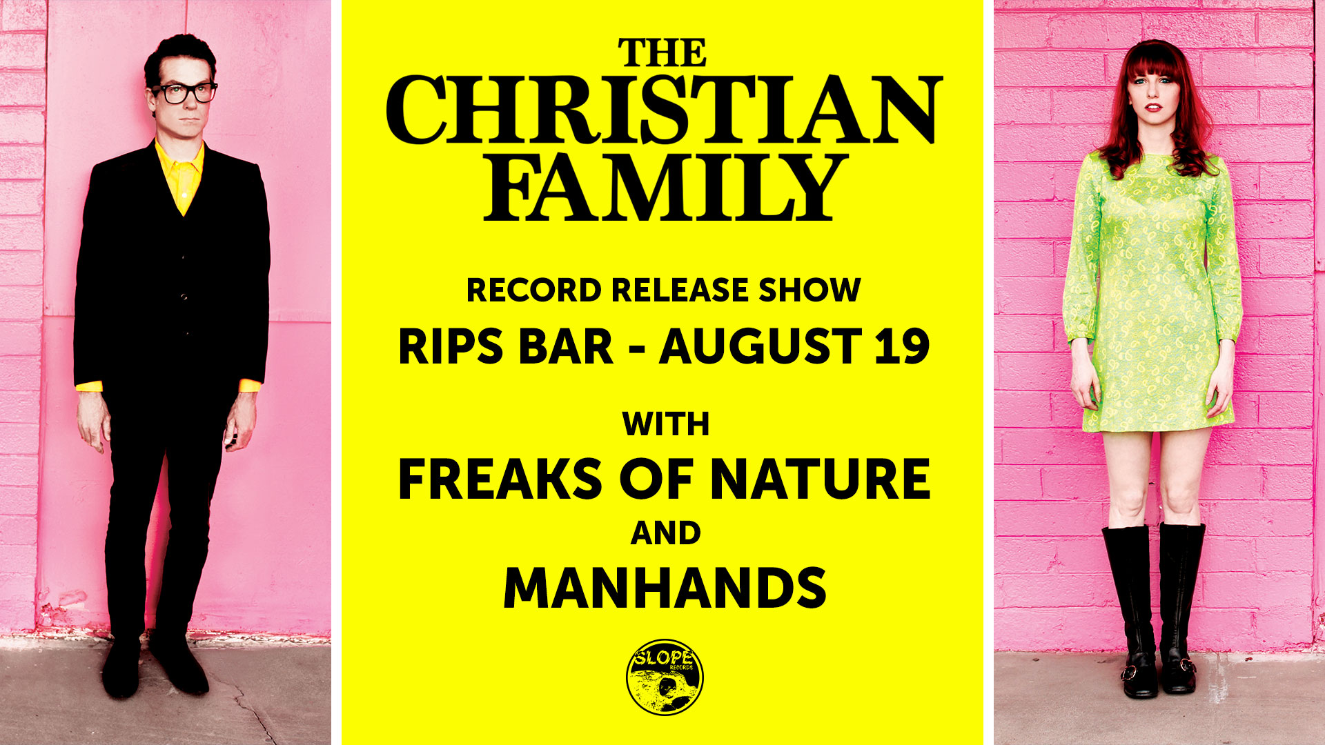The Christian Family Record Release @ Rips Bar 8/19