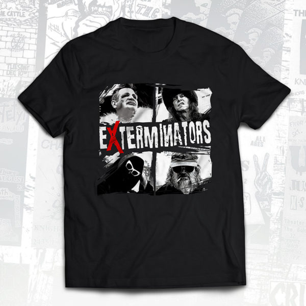 Exterminators Product of America Mugshots T-Shirt - Slope Records