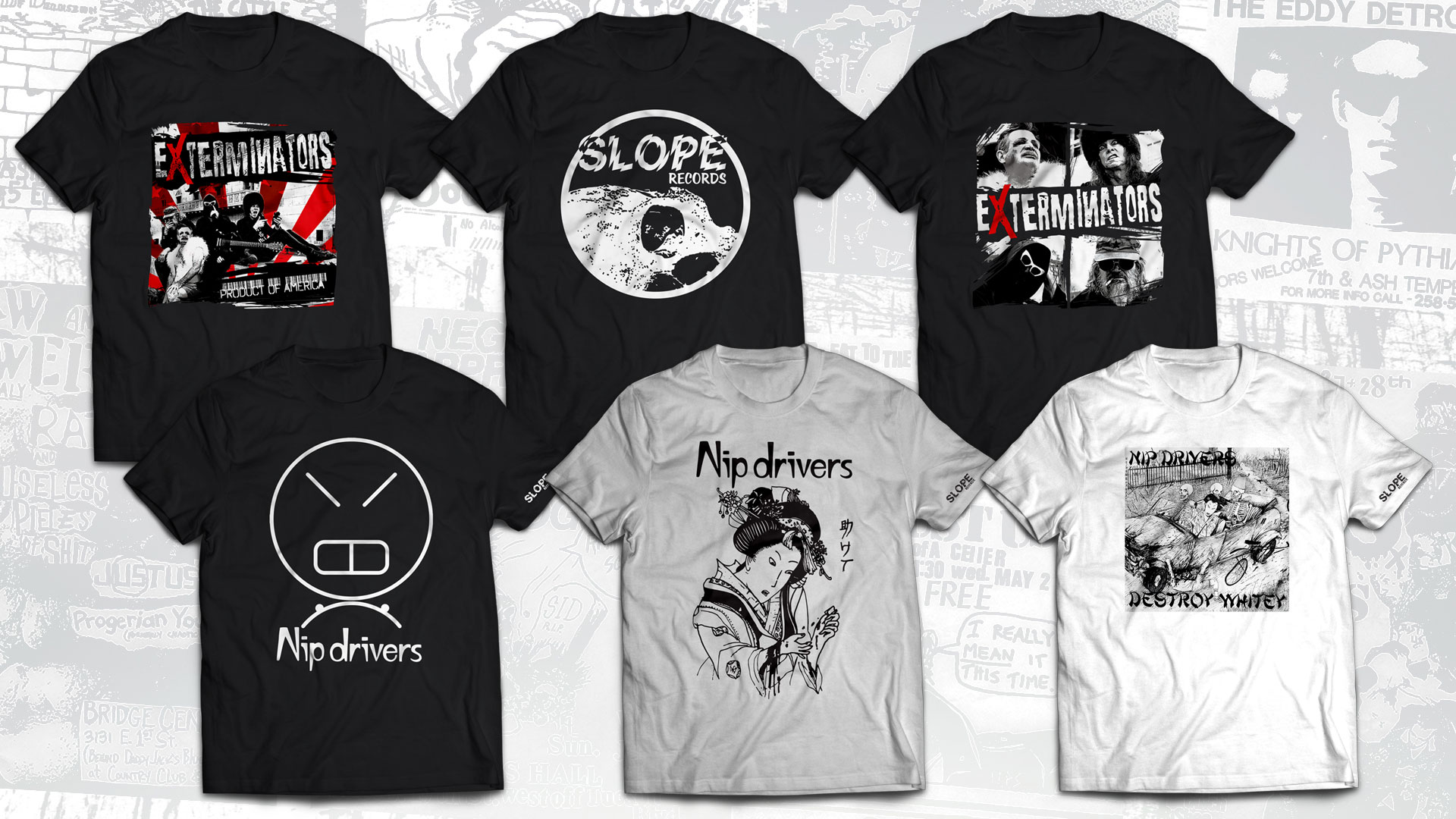 Slope Records T-Shirts Are Here