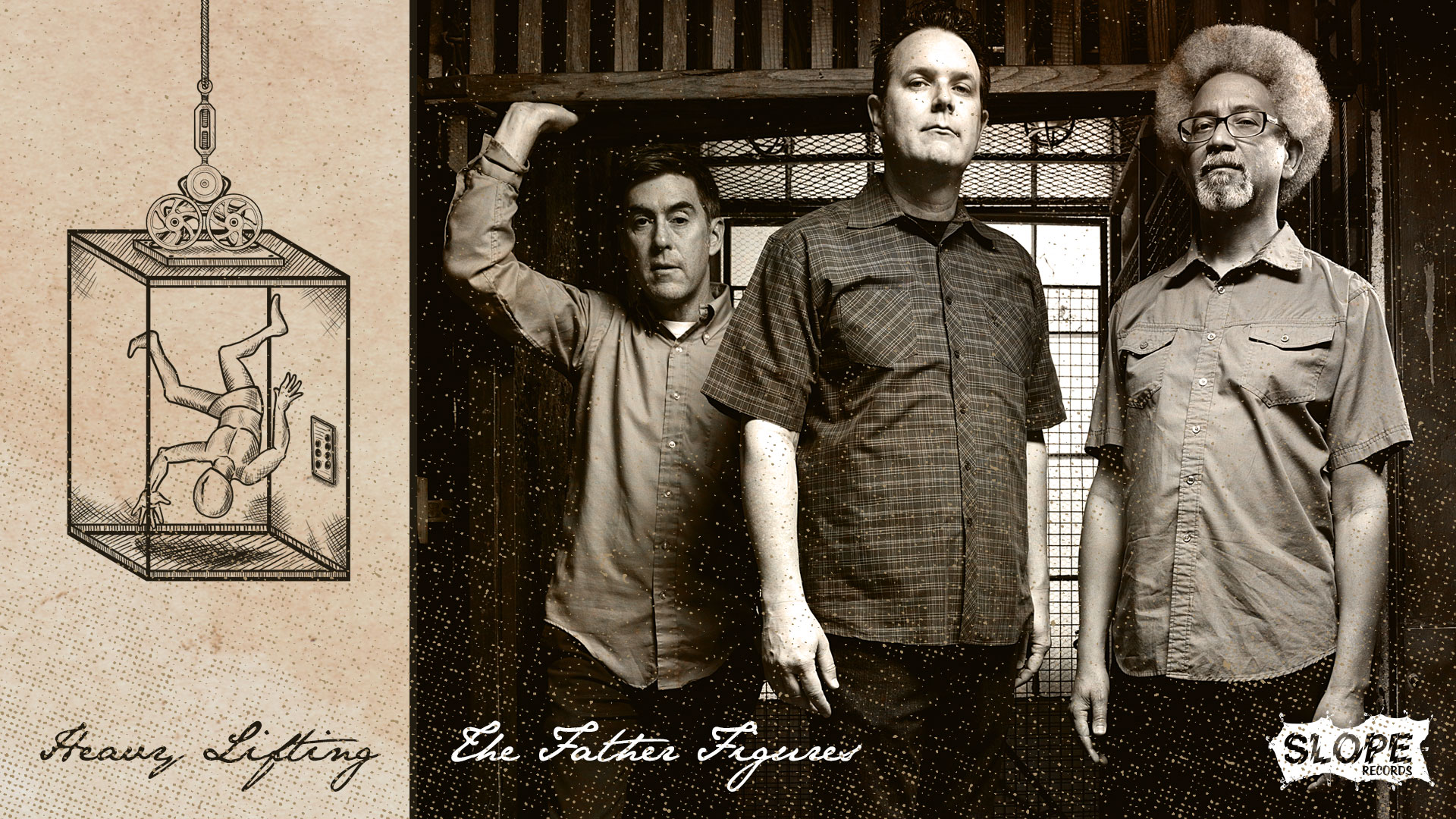The Father Figures - Heavy Lifting LP - Slope Records